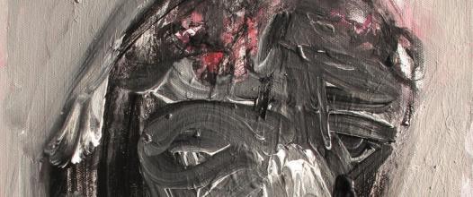 čierna duša /black soul/ II. 30x40