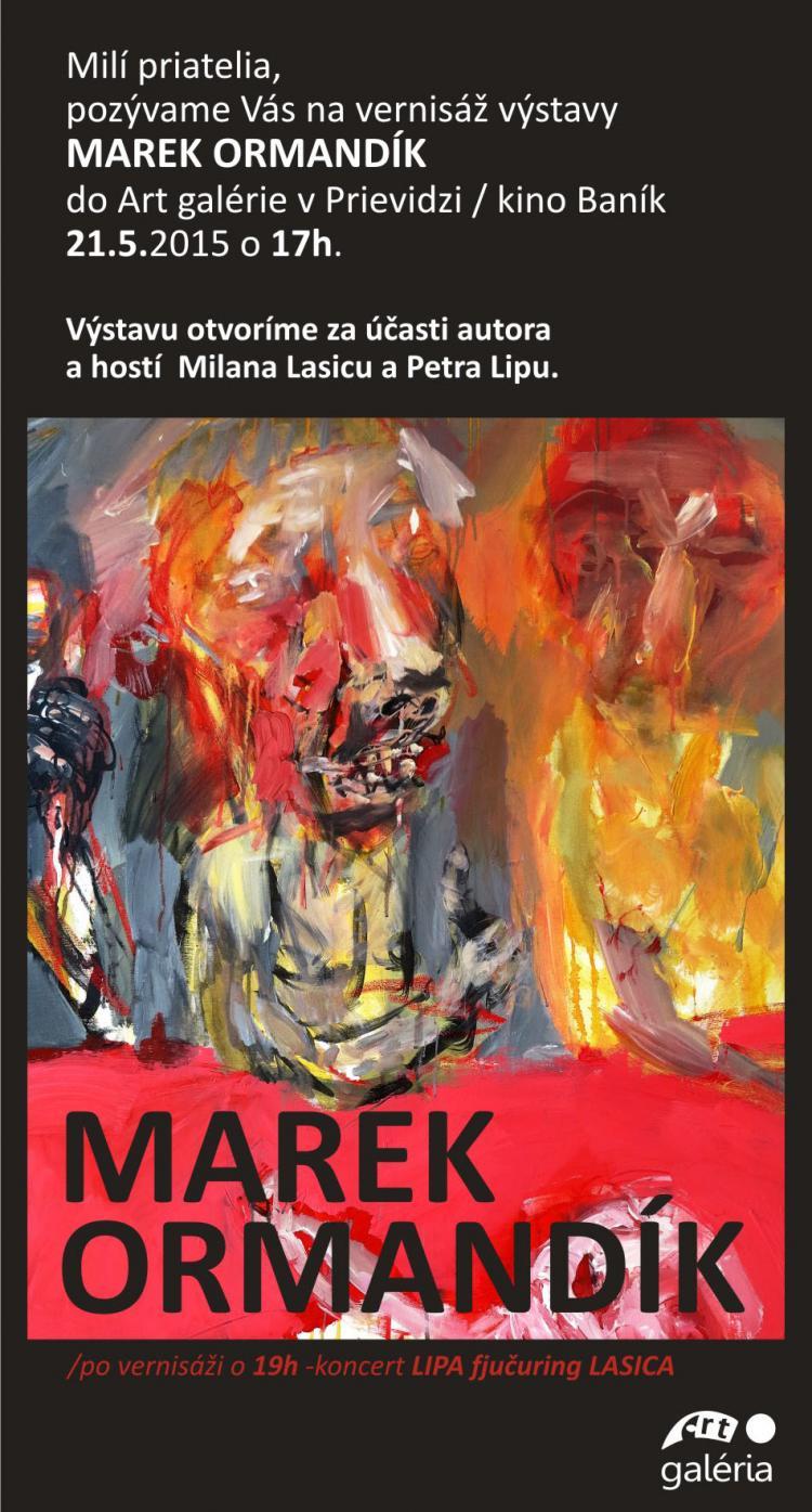 Marek Ormandik pozv prievidza