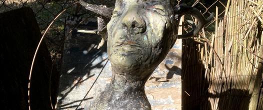 záhradná socha /garden sculpture I./ 90 cm