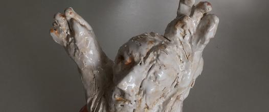 zachráňte Ježiša /save Jesus/ keramika /ceramics/ 18 cm