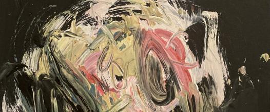 portrét smrti /portrait of death/ 50x40